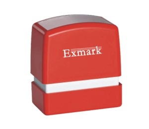 Square Rubber Stamp Size B (55mm x 17mm)