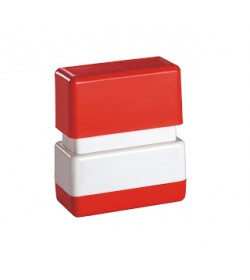 Square Rubber Stamp Size D (39mm x 13mm)