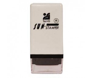 Square Rubber Stamp Size K (10mm x 10mm)