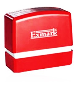 Square Rubber Stamp Size X (30mm x 65mm)