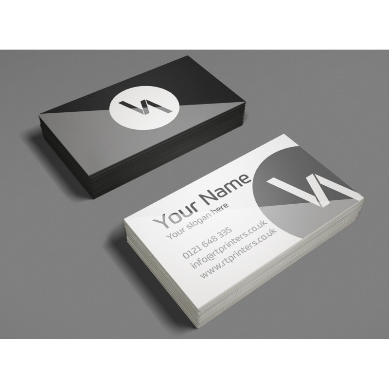 Spot uv matt laminated business cards rt printers spot uv business cards reheart Choice Image